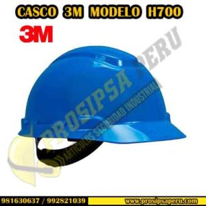 CASCO 3M H700 AZUL